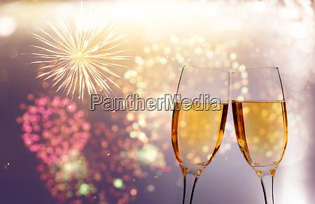 glaeser champagner gegen urlaubsbeleuchtung
