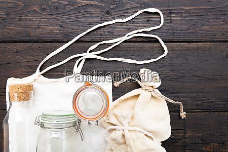 baumwolltaschen und glas gar fuer kostenlose
