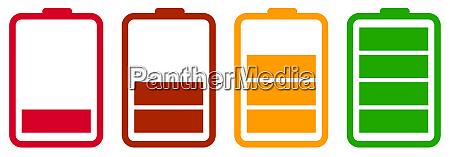 batterie ladegeraet power anzeige laden eletrische