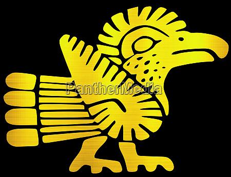 maya zivilisation aztec vogel tier stamm