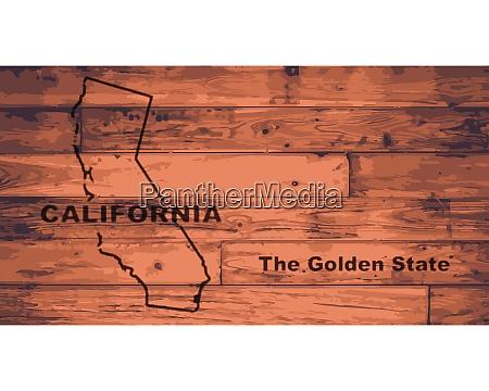 california karte marke