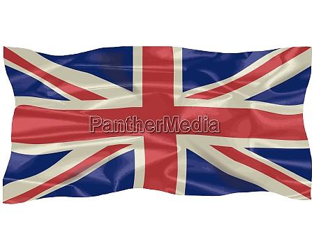 silk union jack flagge