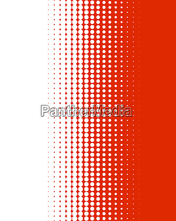 gradient dots red and white