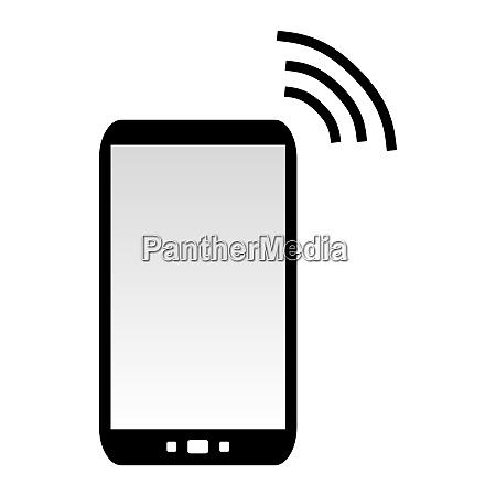 mobile phone sending data