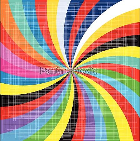 pop art spirale