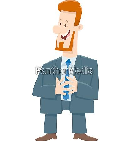 boss or businessman cartoon character