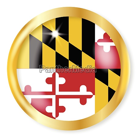 maryland flagge button