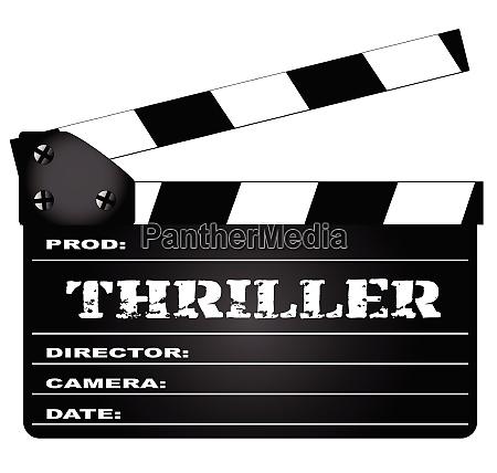 thriller clapperboard