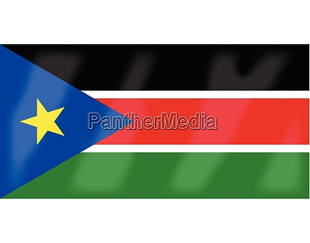 suedsudan flagge