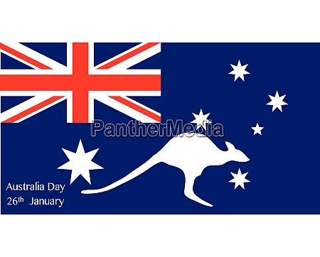 australia day kangaroo