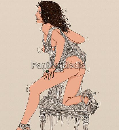 frau erotik raffinierte und sinnliche