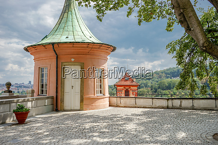 pavilion of the castle in prague
