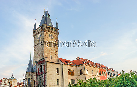 old city hall in prague