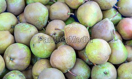 fresh green pears