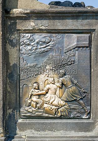 detail, der, skulptur, des, hl., johannes - 26139935