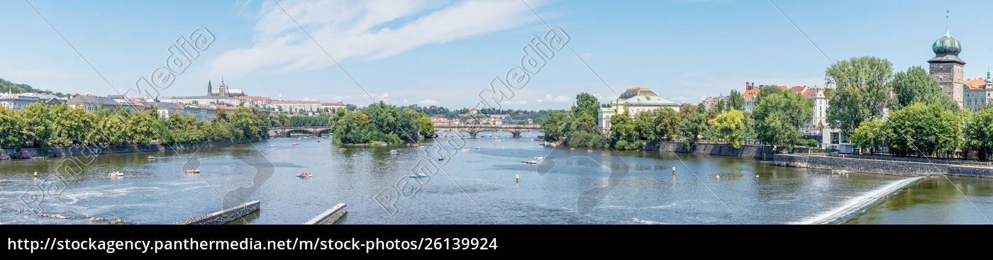 legionenbrücke, in, prag - 26139924