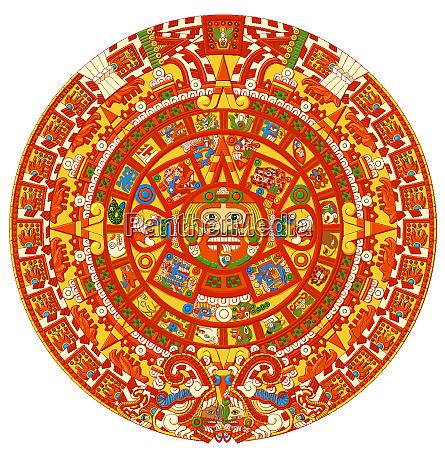 tribal ancient maya civilization aztec
