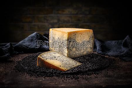 slice segment of a cheese