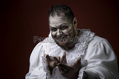 beaengstigend boese clown