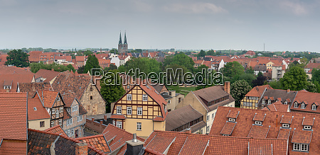 quedlinburg germany europe
