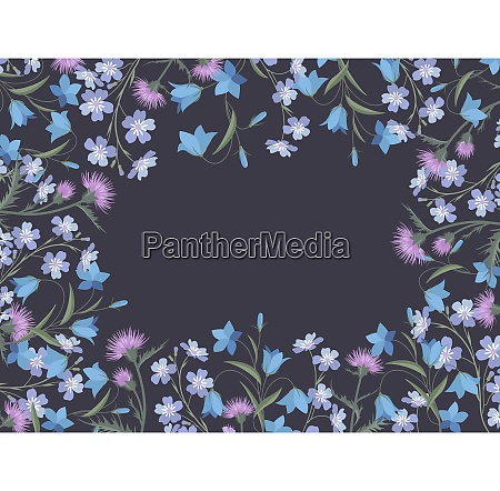 sommerflorale dekoration
