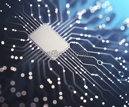 electric pulses of the microchip