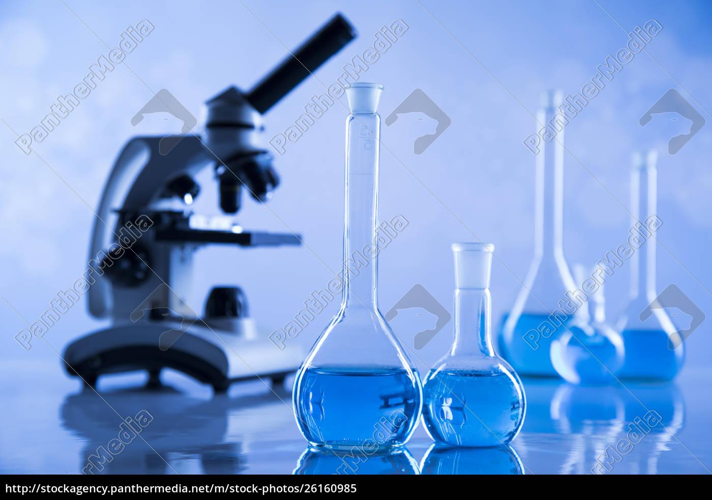 entwicklung, wissenschaftliche, glaswaren, für, chemische, experimente - 26160985