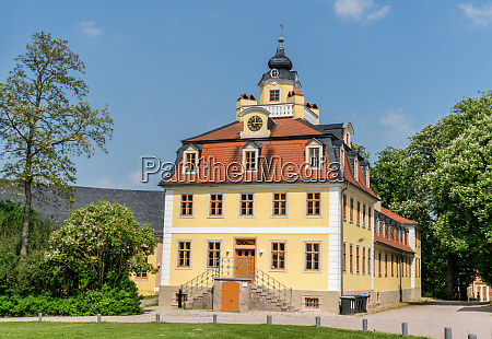 castle belvedere in weimar