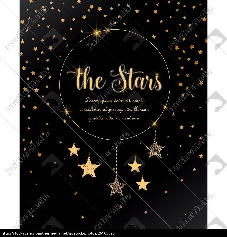 nachthimmel, mit, sternen - 26165525
