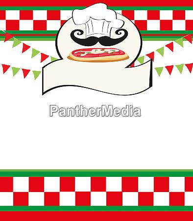 pizza menue vorlage