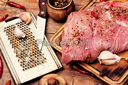 fresh uncooked raw meat beef