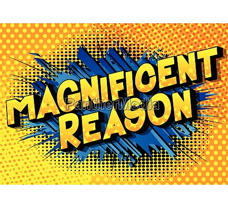 magnificent reason vector illustrated comic