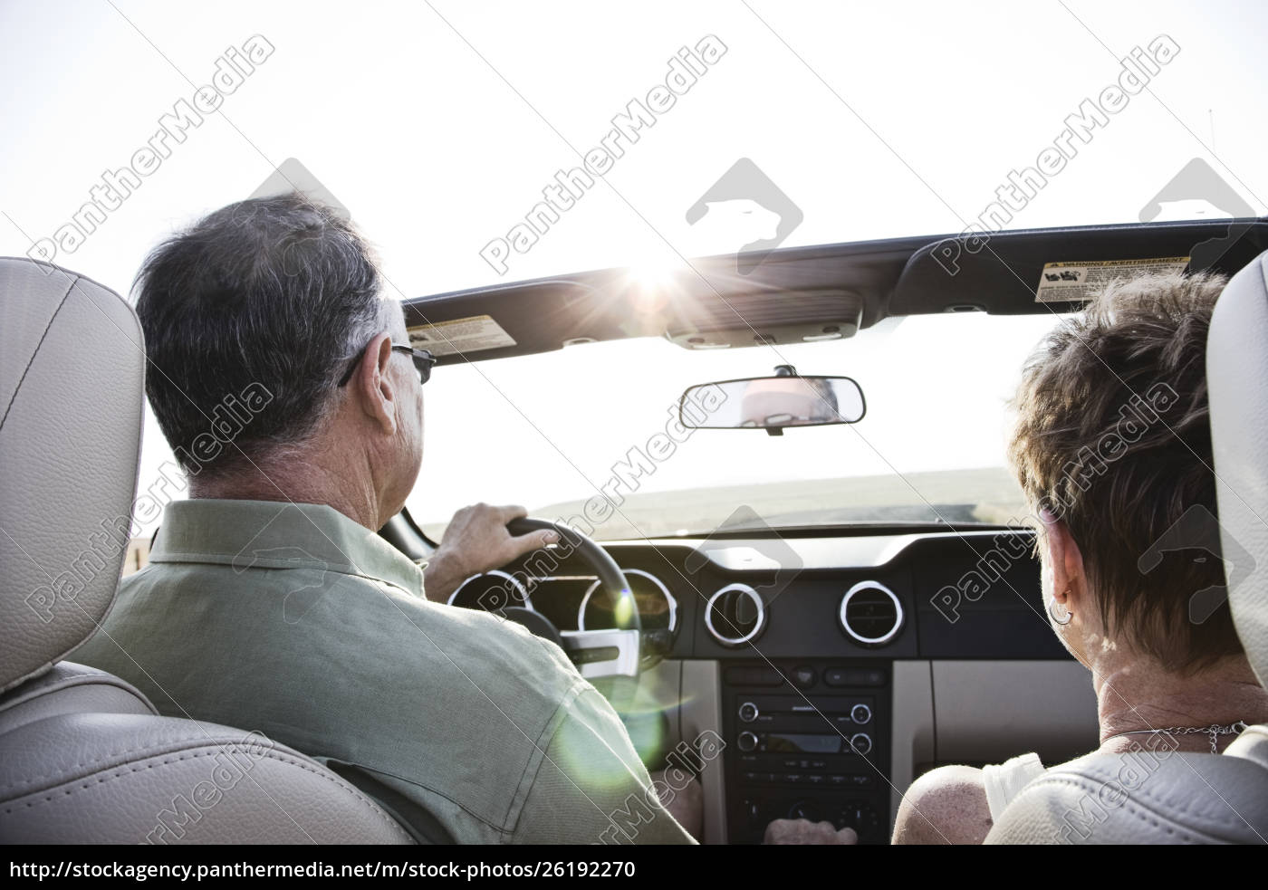 view, from, behind, of, senior, couple - 26192270