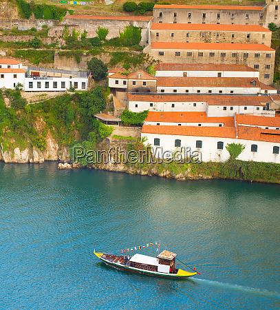 boot douro fluss porto portugal
