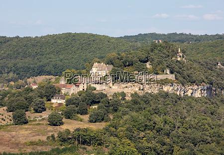 chateau de castelnaud mittelalterliche festung castelnaud