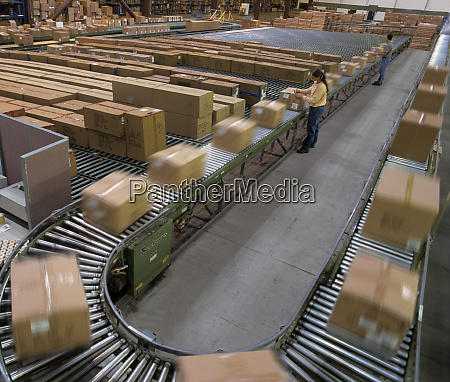 overview of a large industrial distribution