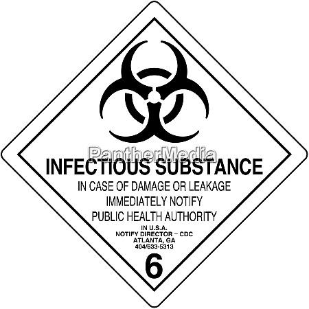 infektioese substanz