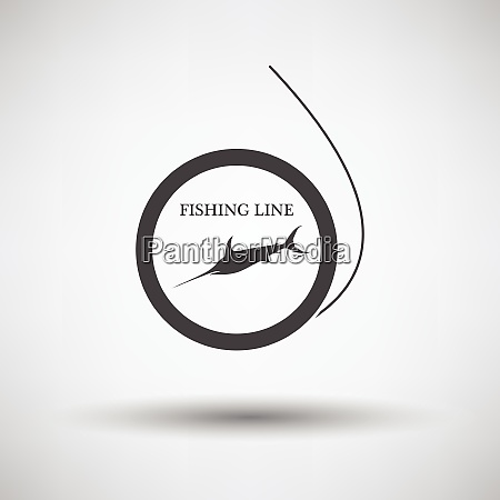 icon of fishing line icon of