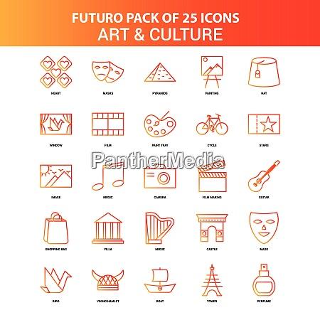 orange futuro 25 kunst und kultur