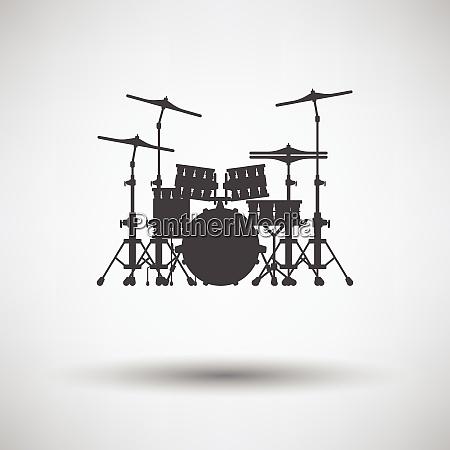 drum set icon drum set icon