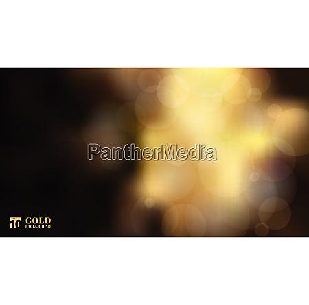 abstrakte glaenzende defokussierte gold bokeh lichter