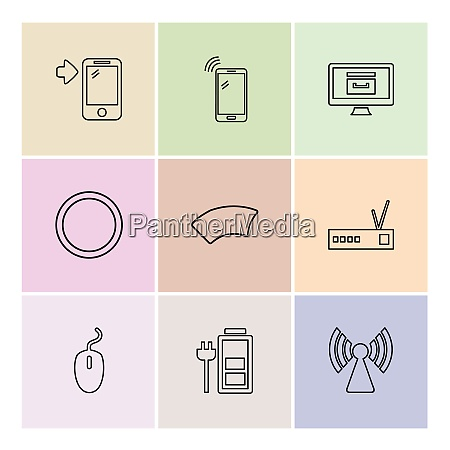 battery wifi network