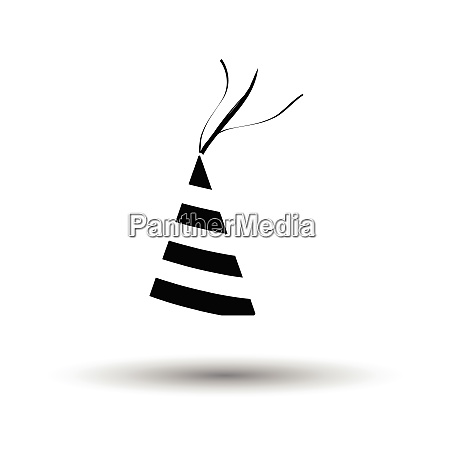 party cone hat icon white background