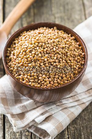dry healthy buckwheat