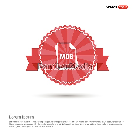 dateityp-symbole, -, red, ribbon, banner - 26234826
