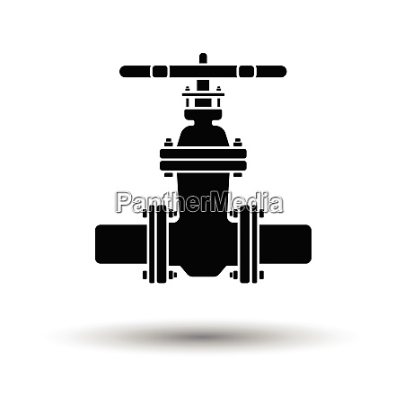 ultrasound diagnostic machine icon shadow reflection
