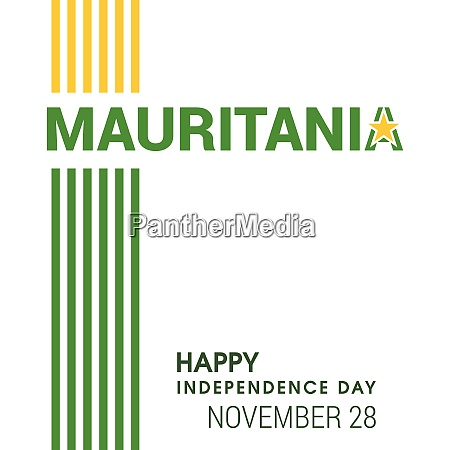 mauretanien flagge design vektor