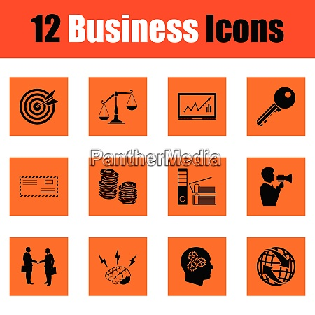 business icon set business icon set