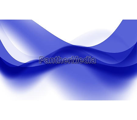 abstract colored wave card set background