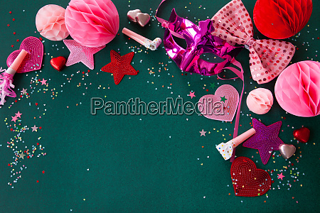 colorful decoration for carnival